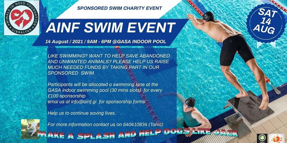 Swimming Fundraising Event