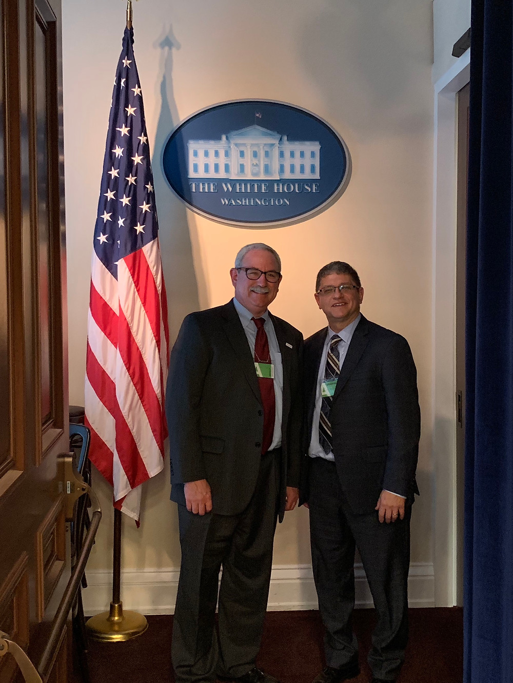 Dr. Micheal Koriwchak was invited the White House as a policy advisor