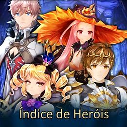 Índice de Heróis
