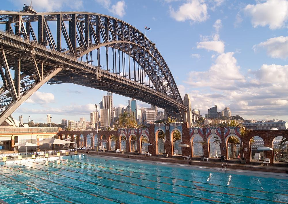 Sydney Harbour Bridge 2000 Olympics