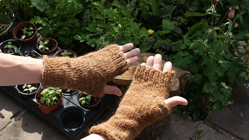 Large Fingerless Gloves