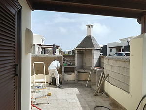 builders lanzarote. Buiding projects. BBQ