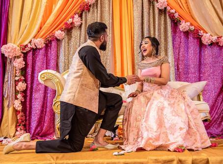 Revi + Natasha's Punjabi Wedding Rituals in Edmonton