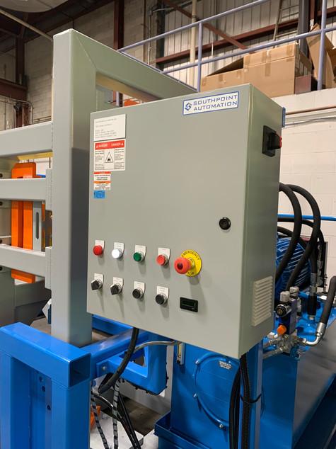 Hydralic Pump Control Panel