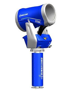 Снежная пушка Titan 4.0 на башне