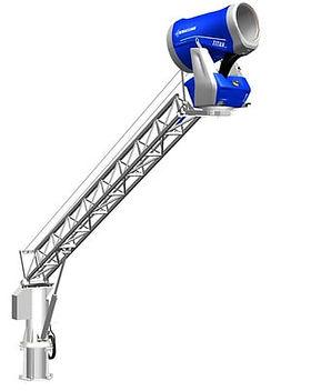 Снежная пушка Titan 4.0 на стреле