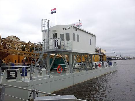 PLM portfolio barge projects custom built