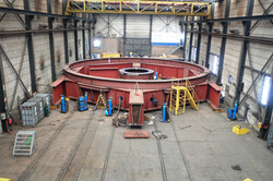 PLM 15000 E ringer foundation frame
