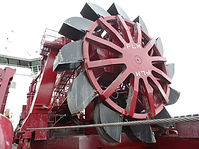 PLM custom built bucket wheel unloader