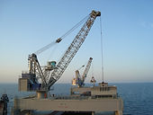 PLM marine cranes for the offshore industry
