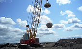 PLM magnet cranes for the drop ball industry