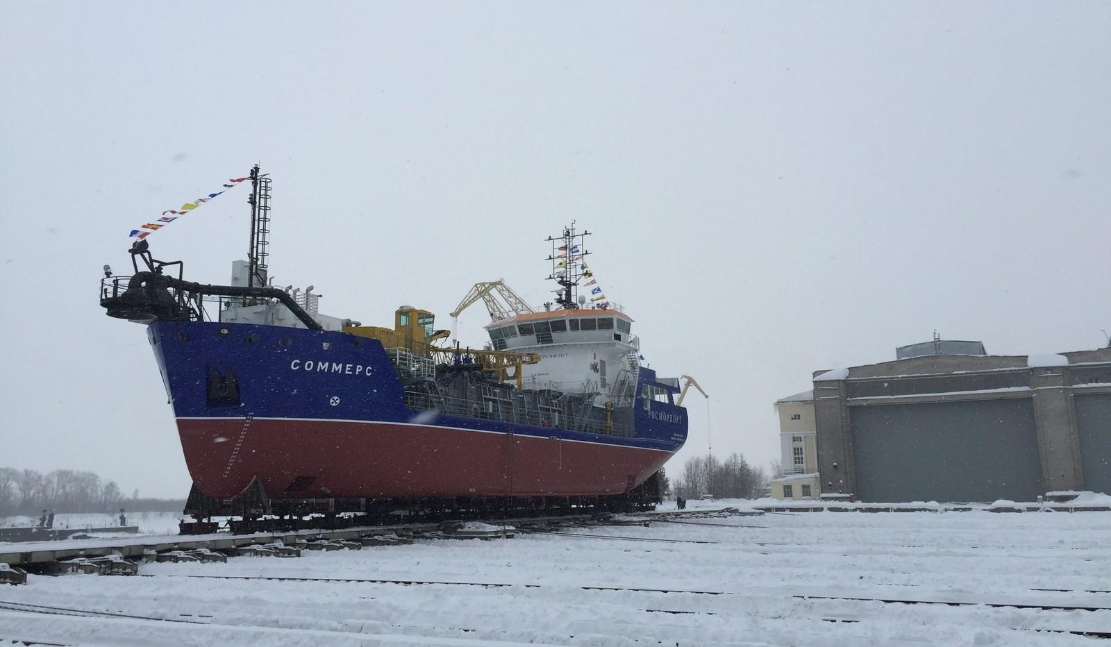 PLM 1215 dredging crane