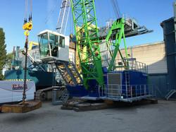 PLM 1220 harbour crane