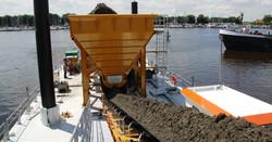 PLM Hopper and Conveyor Belt