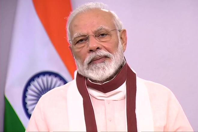 PM Narendra Modi during his address to the nation on May 12.