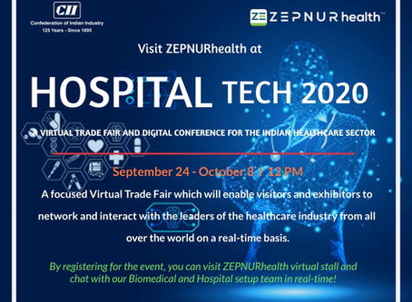 "What can you gain by visiting ZEPNURhealth at the upcoming virtual event -""CII Hospital Tech 2020"""