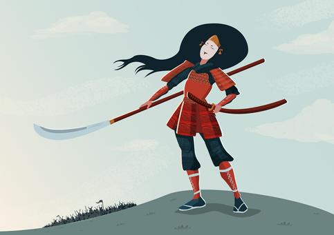 Tomoe Gozen - Female Samurai