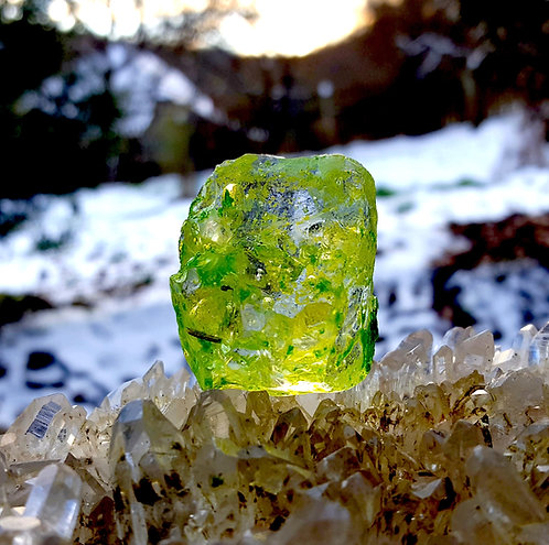 Cosmic Ice/Eternal Spring/Radium Green Andara 35 gram A