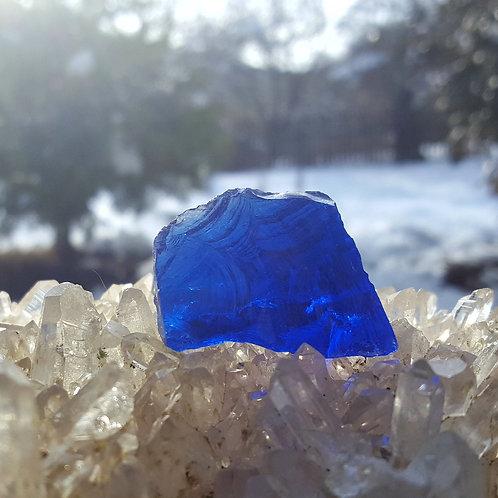 Elestial Sappire/Tanzanite Fire Andara 20 gram C
