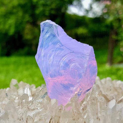 Opalised Violet Soeverein Amethyst Andara 27 gram
