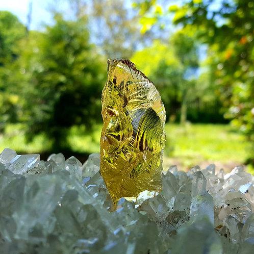 Lemurian Amber Andara 24 gram