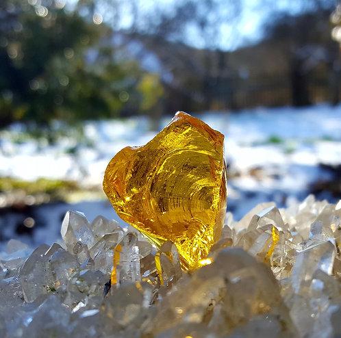 Lemurian Amber Andara 28 gram