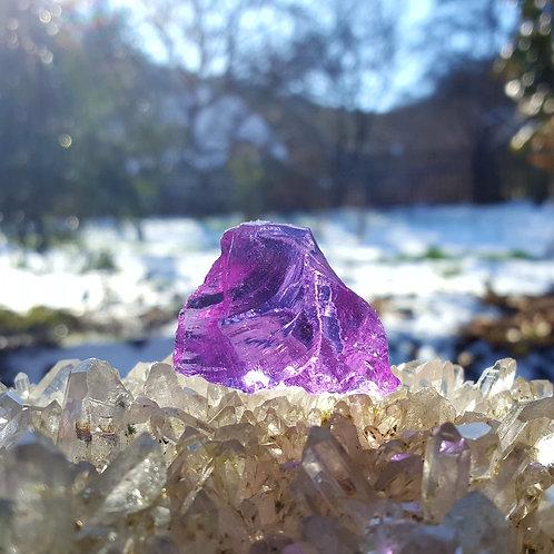 Violet Soeverein Amethyst Andara 26 gram