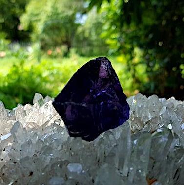 Dark Grape Soeverein Amethyst Andara 19 gram