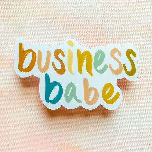 Business Babe Sticker