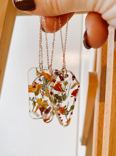 Custom Bouquet Necklaces