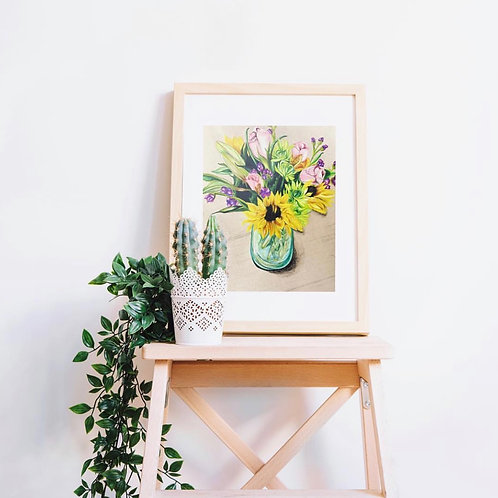 Custom Bouquet Drawing
