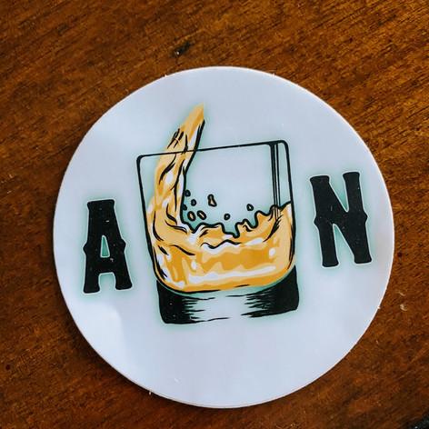 Augusta Neat Sticker