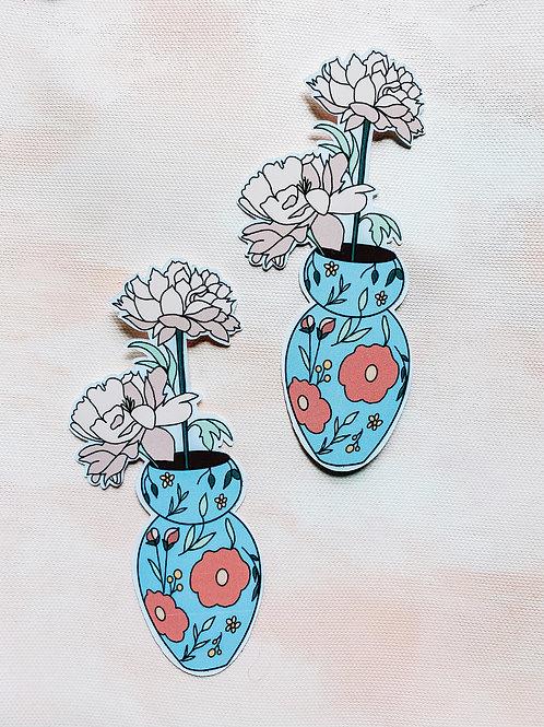 Flower Vase Sticker