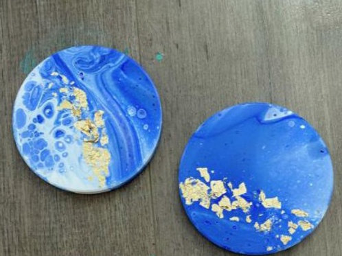 Blue Wave Coasters