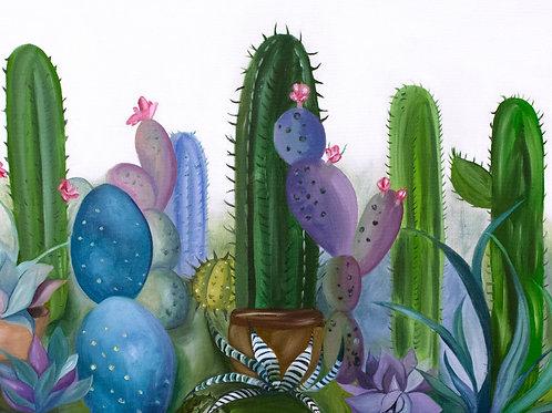 Cacti 1 Print