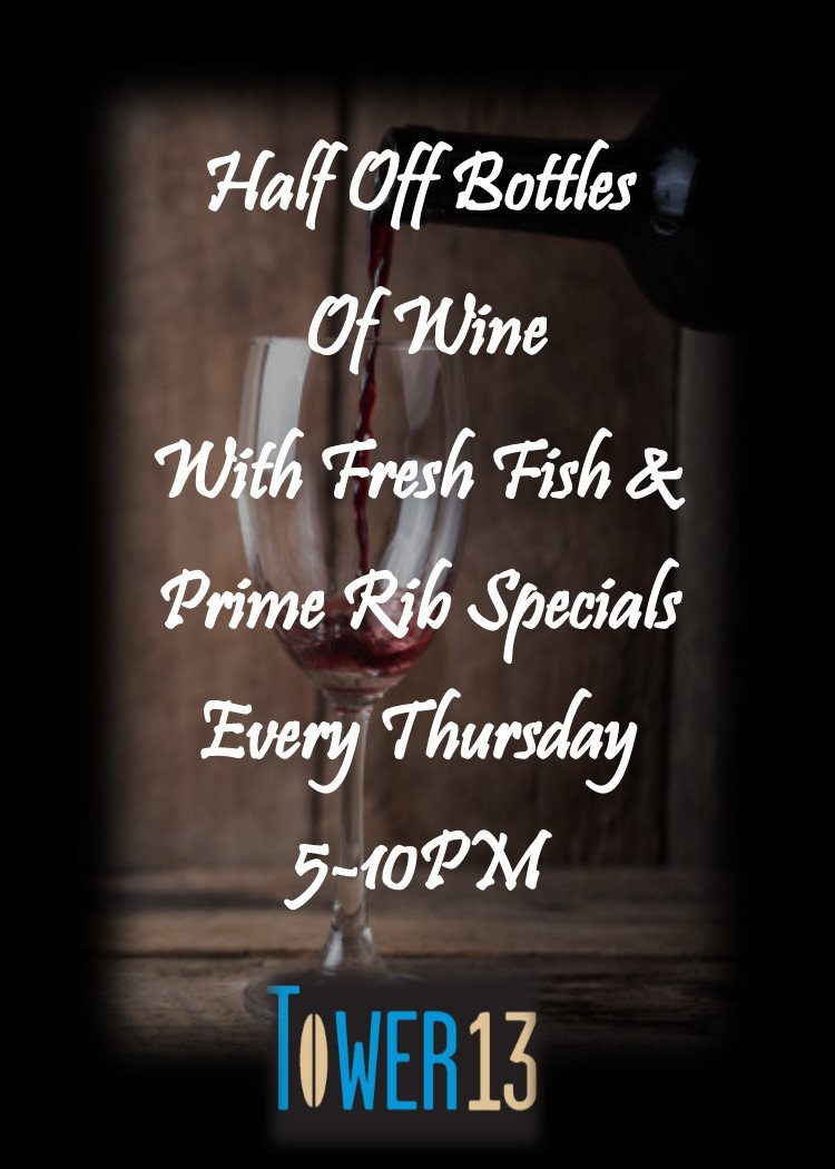 Thursday Night Wine Specials