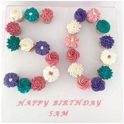 Say it with Flowers Number Board