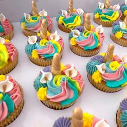 Rainbow Unicorn cupcake