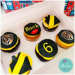 Richmond Tigers Cupcakes