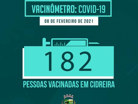 Vacinômetro COVID-19 Cidreira