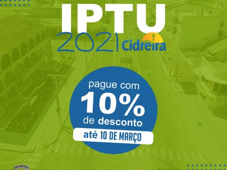 IPTU 2021 Cidreira