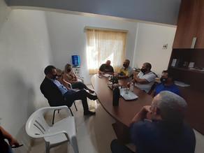 Visita do Deputado Estadual Dalciso Oliveira
