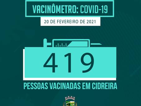 Campanha de vacinação contra a COVID-19