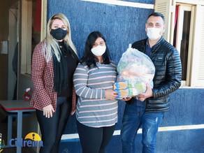 SMEC faz a distribuição de Kits de alimentos nas escolas