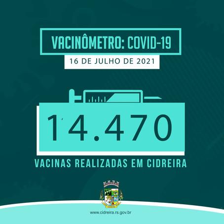 Cidreira cada vez mais imunizada!!!