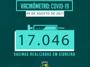 Vacinômetro de vacinação contra a COVID-19