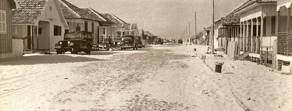 Praia de Cidreira - Década de 1950