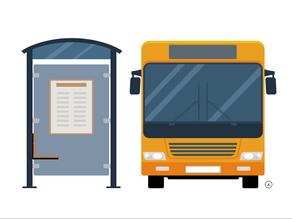 Tabela de horários do transporte público
