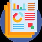 Ícone representando a aba Relatório dos protocolos de 2021