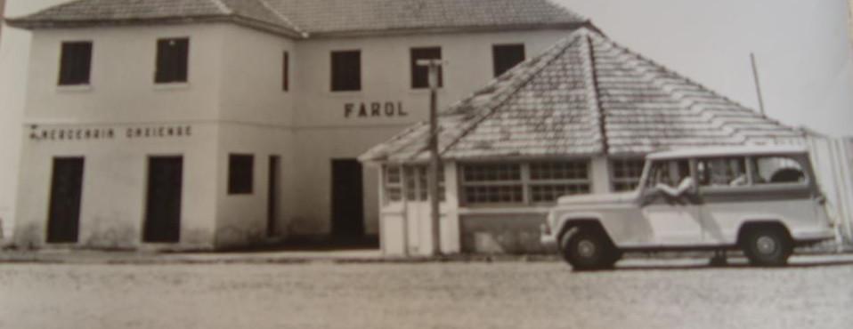Antiga construção em Cidreira - 1940